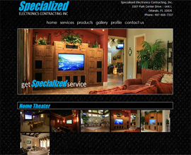 Orlando Custom Homee Theater - Specialized Electronics